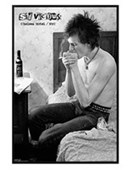 Gloss Black Framed Sid Vicious Chelsea Hotel