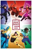 Character Explosion Big Hero 6