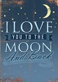 I Love You To The Moon And Back How Much Do You Love Me?