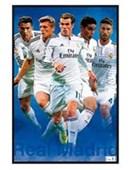 Gloss Black Framed Star Players Real Madrid