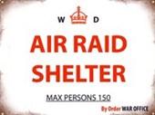 Air Raid Shelter War Office