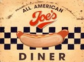 Joe's All American Diner Hot Dog