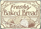 Freshly Baked Bread Get It Whilst It's Hot