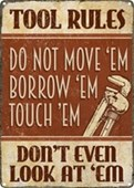 Don't Even Look At 'Em Tool Rules