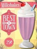The Best In Town Creamy Milkshakes