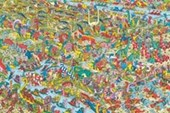 The Jurassic Games Where's Wally