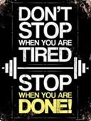 Feel The Burn Fitness Motivation