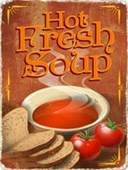 A Heartwarming Dish of the Day Hot Fresh Soup