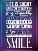 No Regrets Keep on Smiling