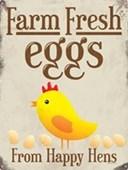Happy Hens Farm Fresh Eggs
