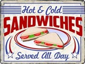Sandwiches Served All Day