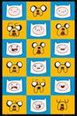 Finn & Jake Funny Faces Adventure Time