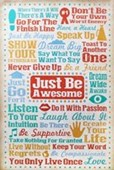 Just Be Awesome Unlock Your Happiness