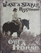 Want A Stable Relationship Get A Horse