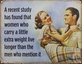 Carrying A Little Extra Weight Mention It At Your Own Risk