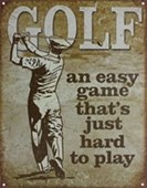 Golf - An Easy Game Hard To Play