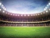 Football Stadium Let The Games Begin