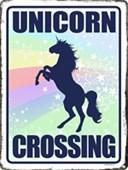 Unicorn Crossing Believe In Magic