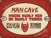 For Manly Men Only! The Man Cave
