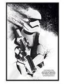 Gloss Black Framed The Force Awakens Stormtrooper Paint Star Wars