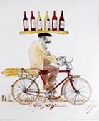 Wine Cycler Ralph Steadman