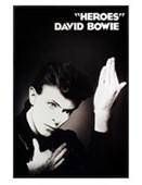 Gloss Black Framed Heroes David Bowie