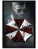 Black Wooden Framed Key Art Resident Evil