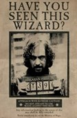 Wanted Sirius Black Harry Potter