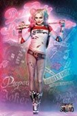 Harley Quinn In Neon Suicide Squad