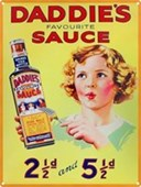Daddie's Favourite Sauce Classic Advertising