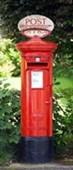 Red Post Box British Icon