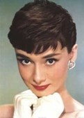 Audrey Hepburn Poster Pose