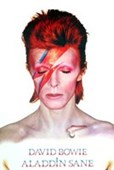 Aladdin Sane Album Cover Art 1973 David Bowie Album Covers