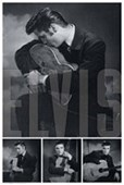 Brooding Collage Elvis Presley