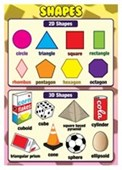 2D & 3D Shapes Shapes for Kids