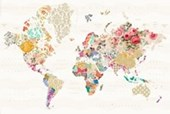 A World of Patterns Alternative World Map