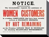 Notice To Women Customers Imperial War Museum