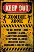 Zombie Zone Keep Out
