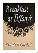 Breakfast At Tiffany's Truman Capote