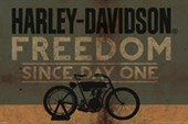 Freedom Since Day One Harley Davidson