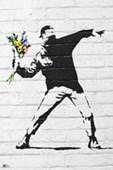 Flower Bomber Banksy