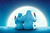 Polar Bear Moon Coca Cola
