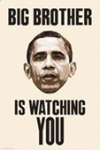Big Brother Is Watching You Obama