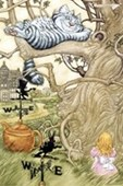 The Cheshire Cat Alice In Wonderland
