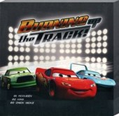Burning Up The Track Disney Cars:The Movie