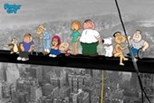 On A Skyscraper Family Guy
