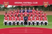 Arsenal F.C. Team Photo 2013/14