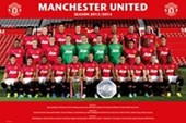 Manchester Utd F.C. Team Photo 2013/14