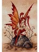 Little Red Mischief Fairy Amy Brown
