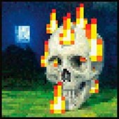 Flaming Skull Minecraft
